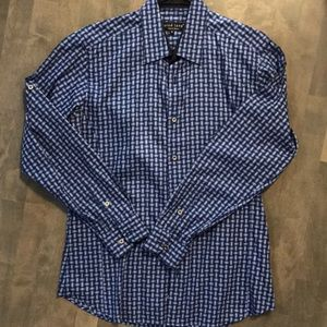 Jared Lang blue button up